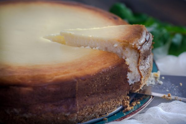 Cheesecake frutos del bosque low carb